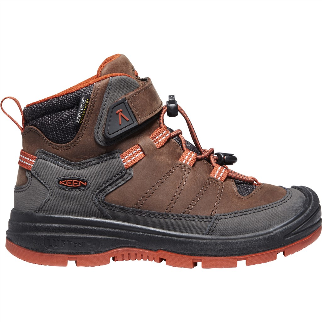 KEEN - C Redwood Mid WP - coffee bean/picante