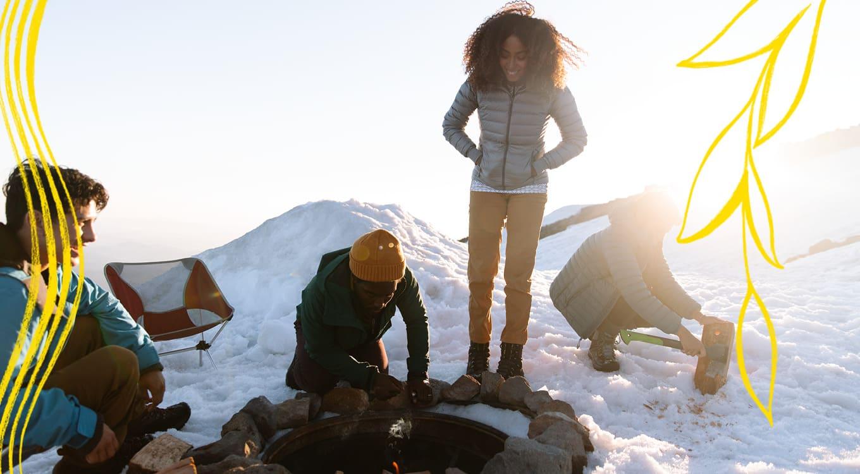 KEEN Aktivitäten Winter Warme Füsse für die ganze Familie