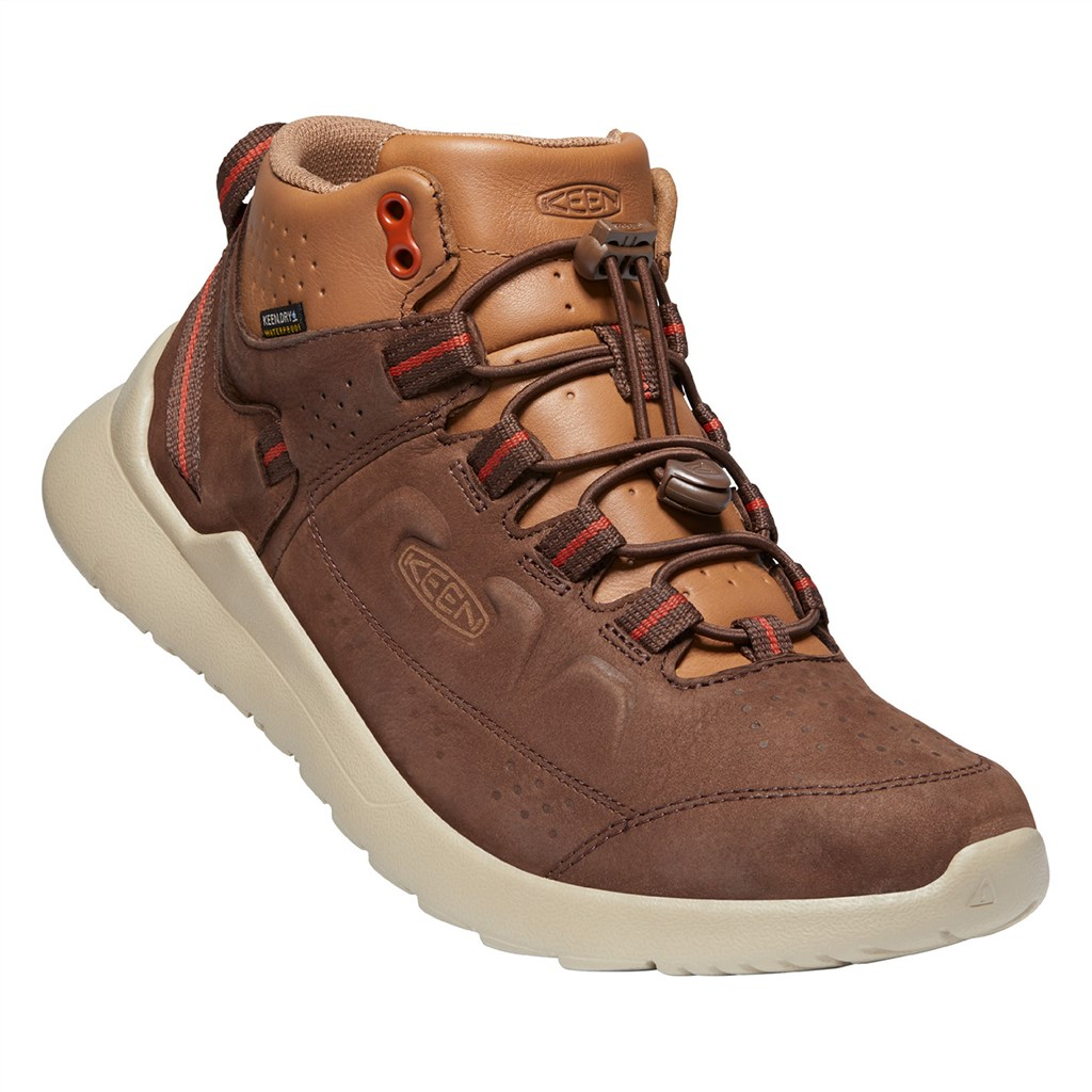 KEEN - M Highland Chukka WP - chestnut/silver birch
