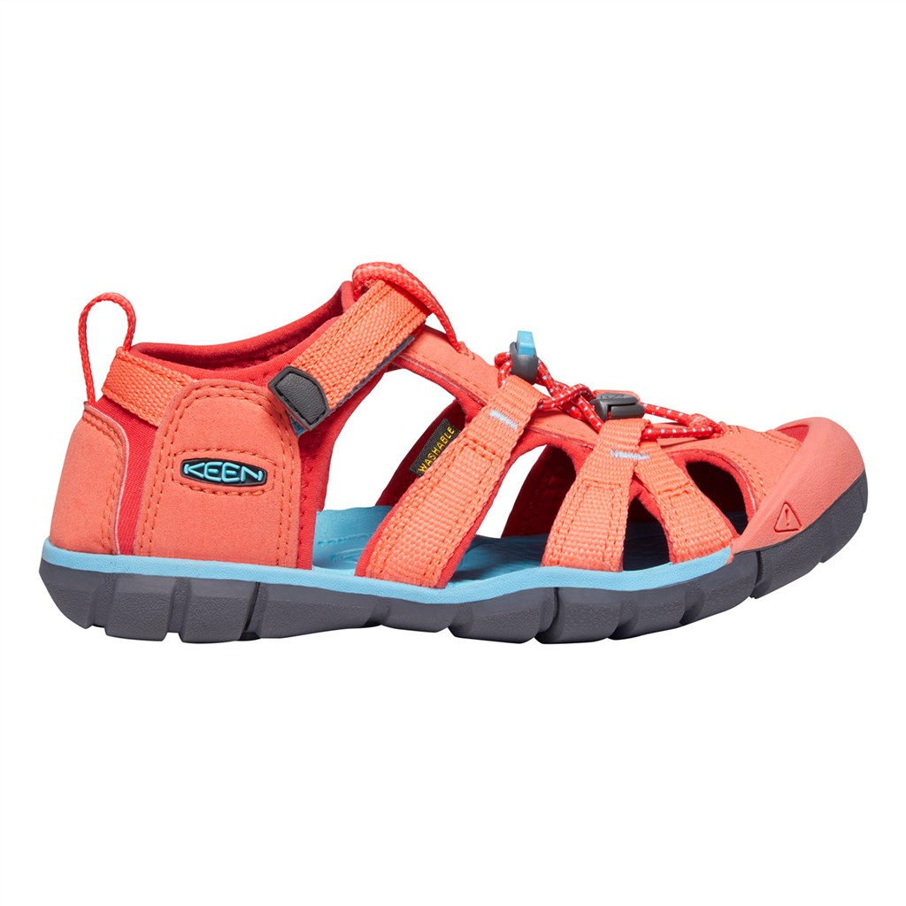 KEEN - Y Seacamp II CNX - coral/poppy red