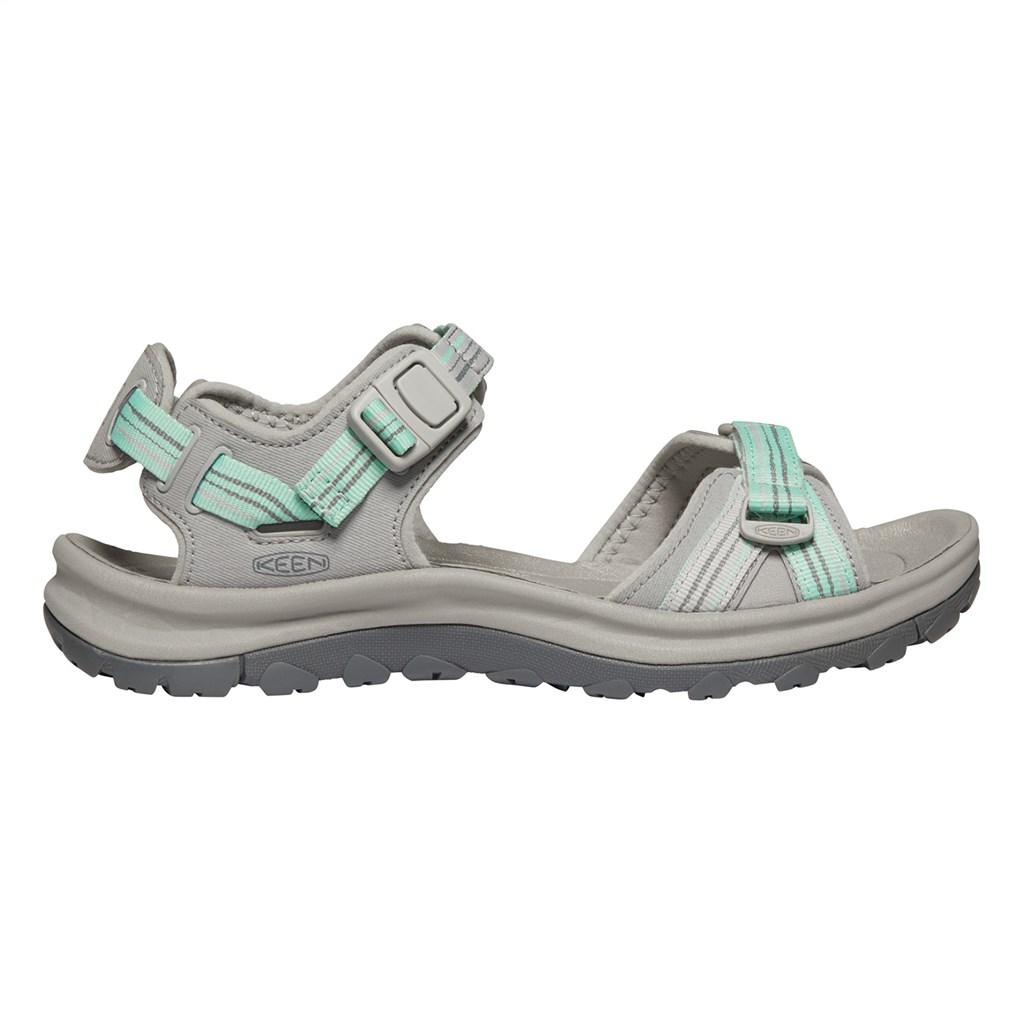 KEEN - W Terradora II Open Toe Sandal - light gray/ocean wave