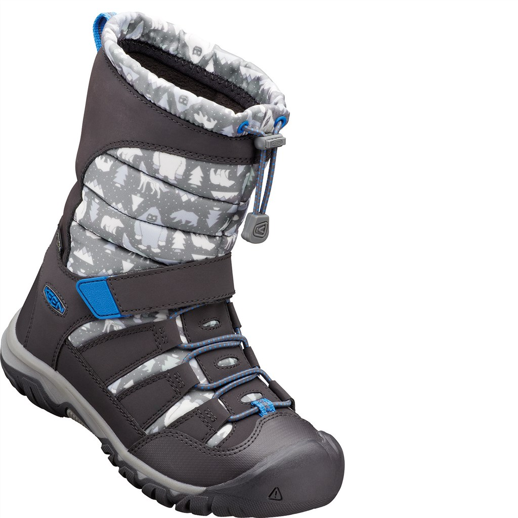 KEEN - Y Winterport Neo Dt WP - steel grey/brilliant blue