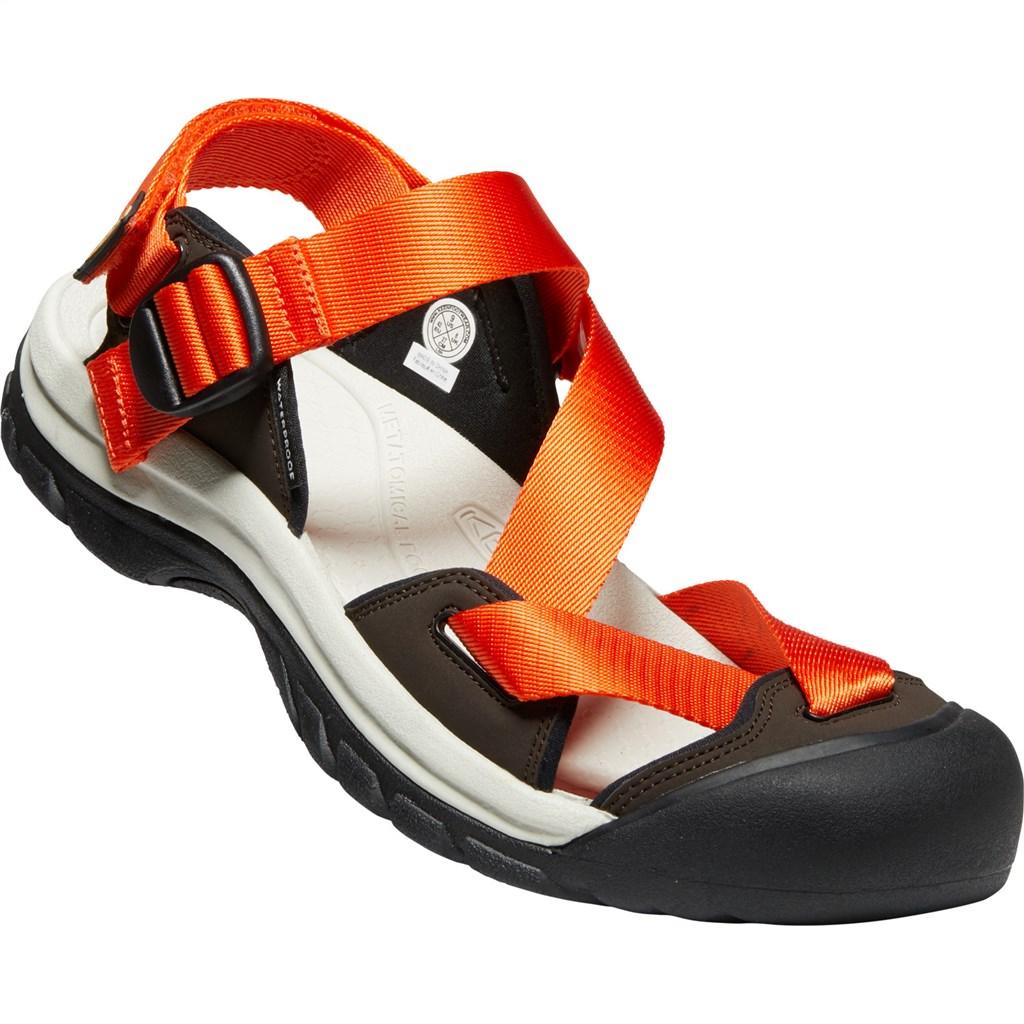 KEEN - M Zerraport II - safety orange/dark brown