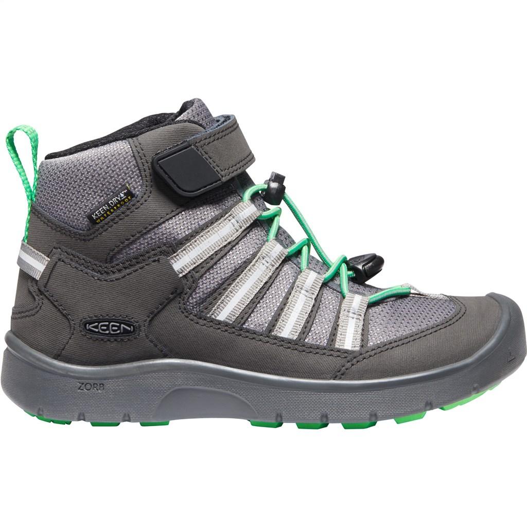 KEEN - Y Hikeport II Sport Mid WP - black/irish green