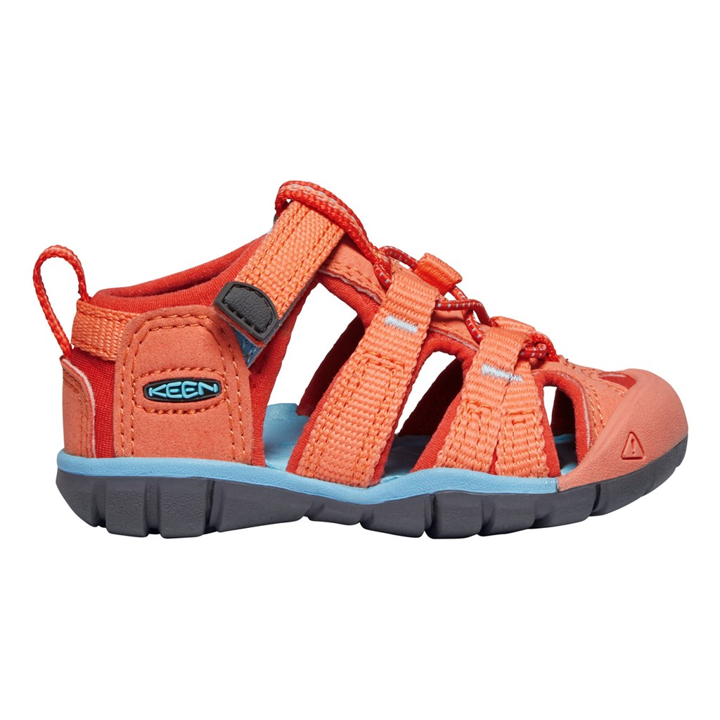 KEEN - T Seacamp II CNX - coral/poppy red