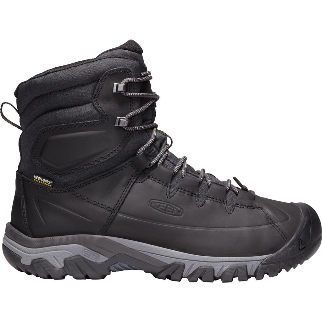 KEEN - M Targhee Lace Boot High - black/raven