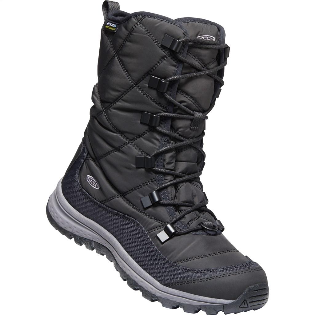 KEEN - W Terradora Lace Boot WP - black/steel grey