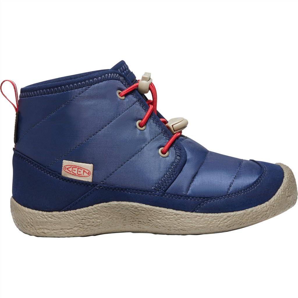 KEEN - Y Howser II Chukka WP - blue depths/red carpet