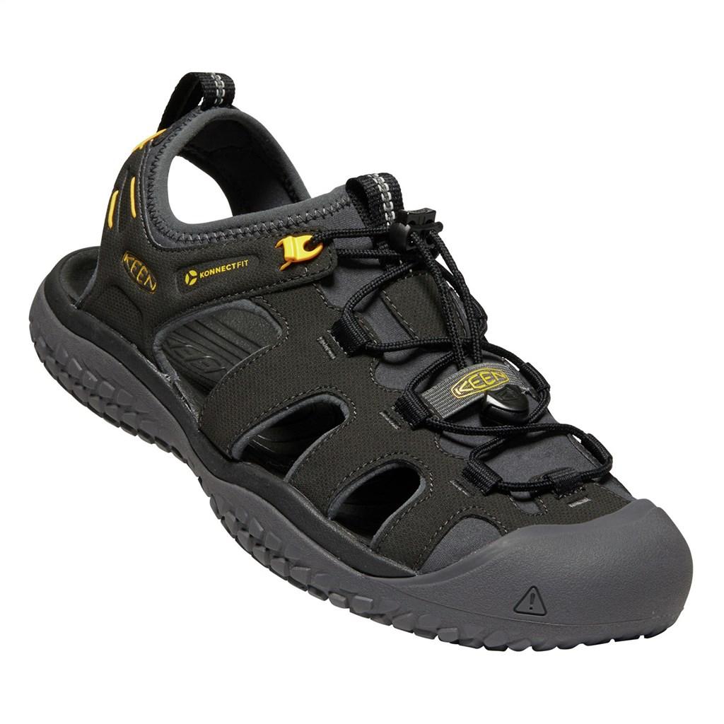 KEEN - M Solr Sandal - black/gold