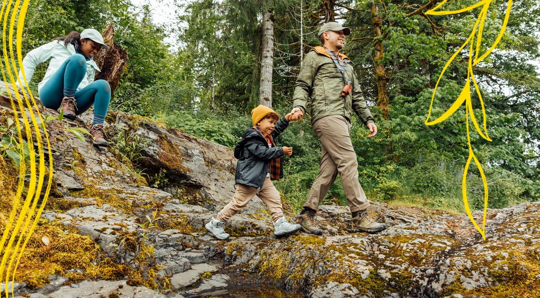 Ridge Flex für Kinder Wandern wird jetzt leichter und bequemer