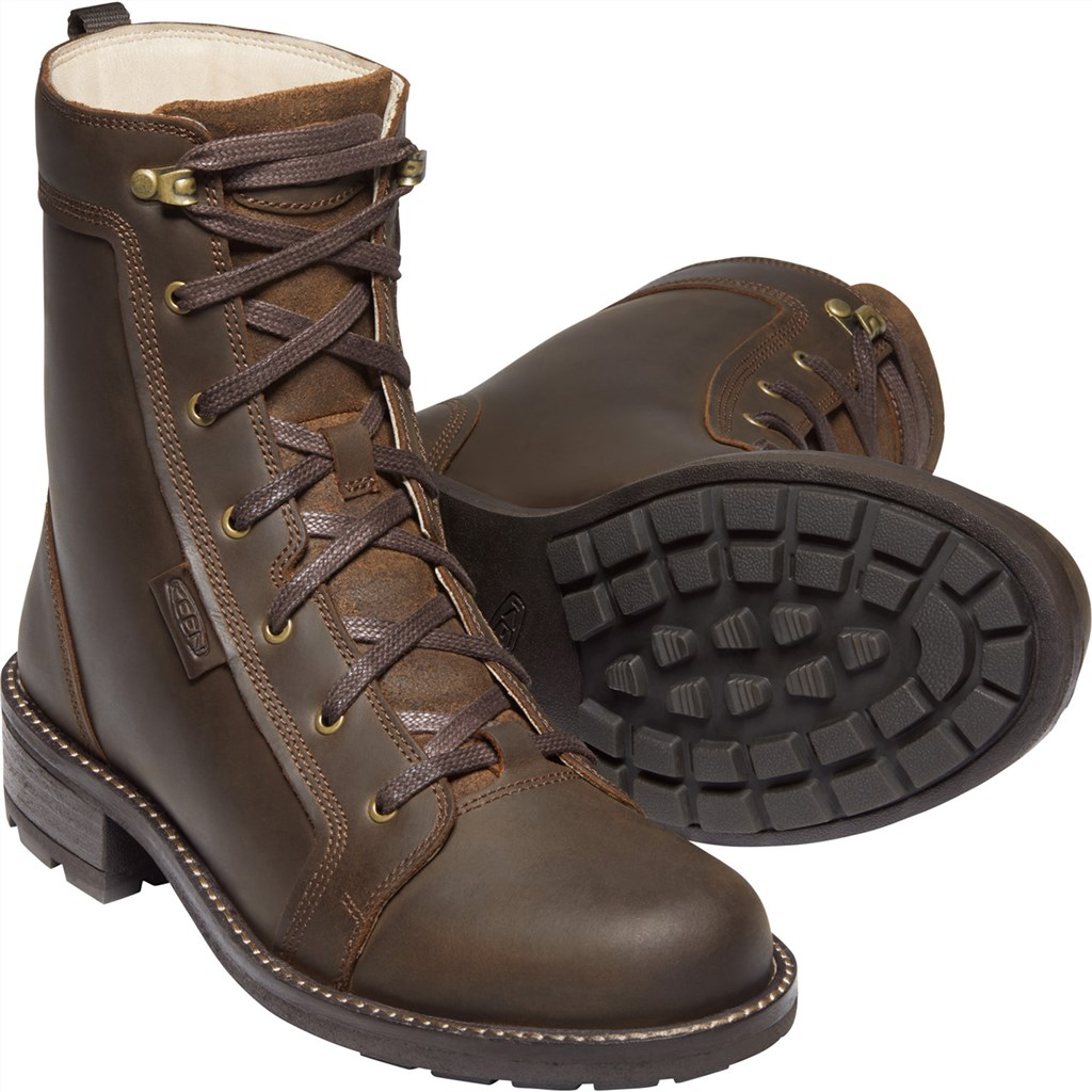 KEEN - W Oregon City Boot - snuff/toasted coconut
