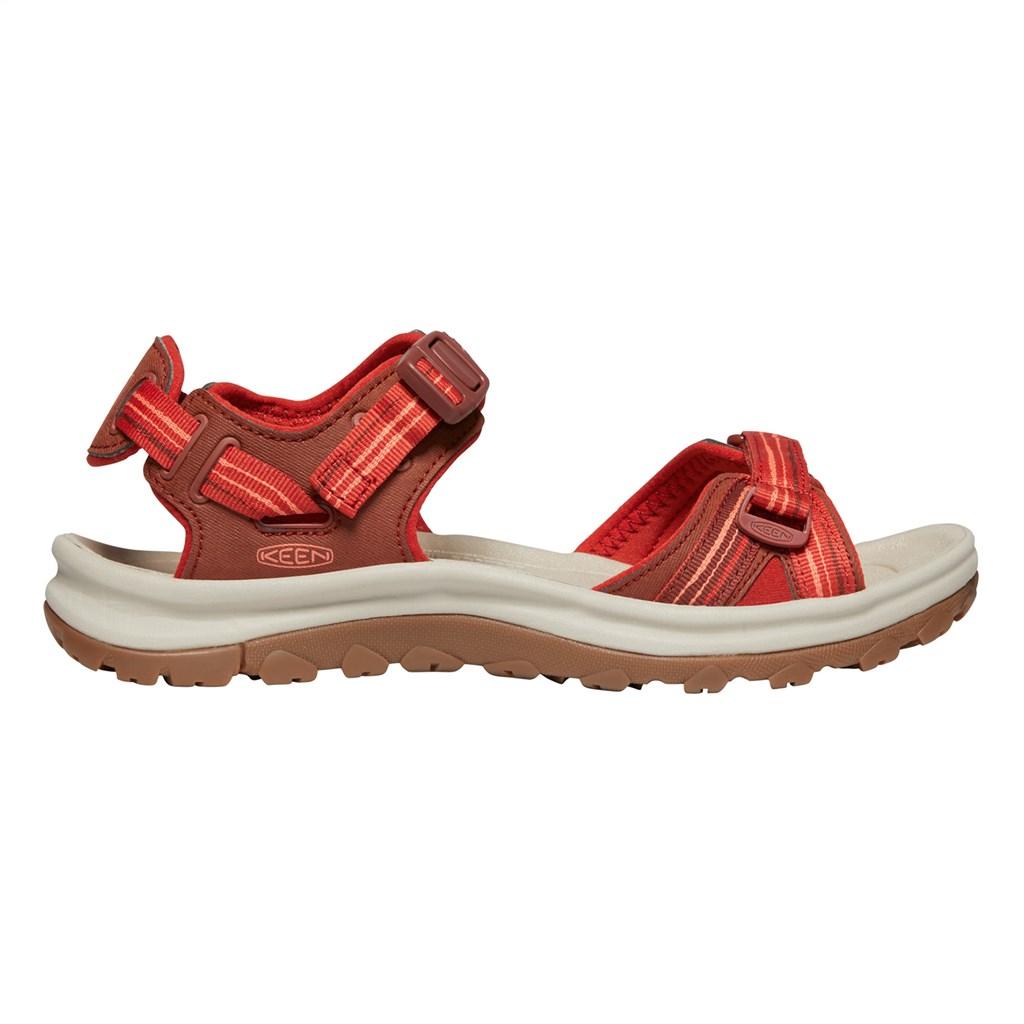 KEEN - W Terradora II Open Toe Sandal - dark red/coral