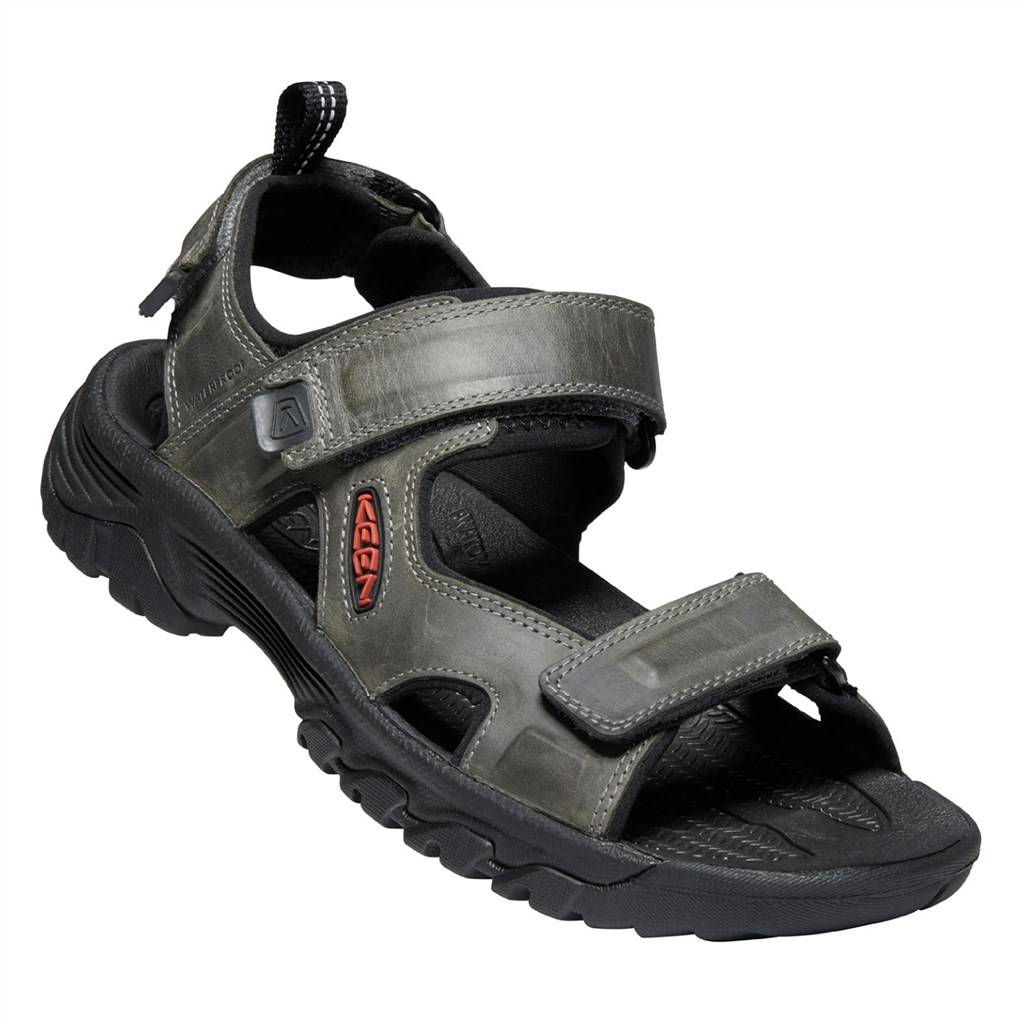 KEEN - M Targhee III Open Toe Sandal - grey/black