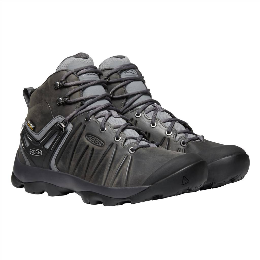 KEEN - M Venture Mid Leather WP - steel grey/magnet