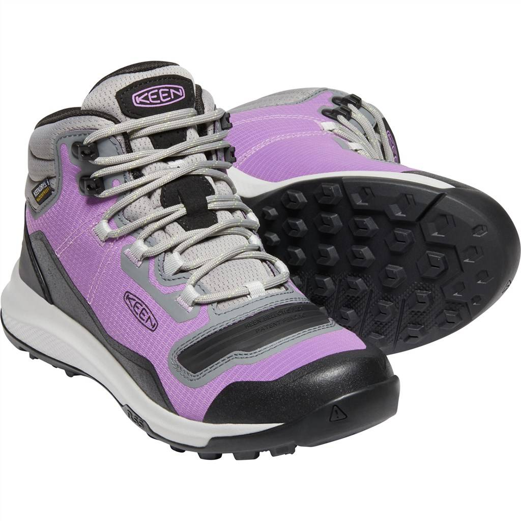 KEEN - W Tempo Flex Mid WP - african violet/sharp green