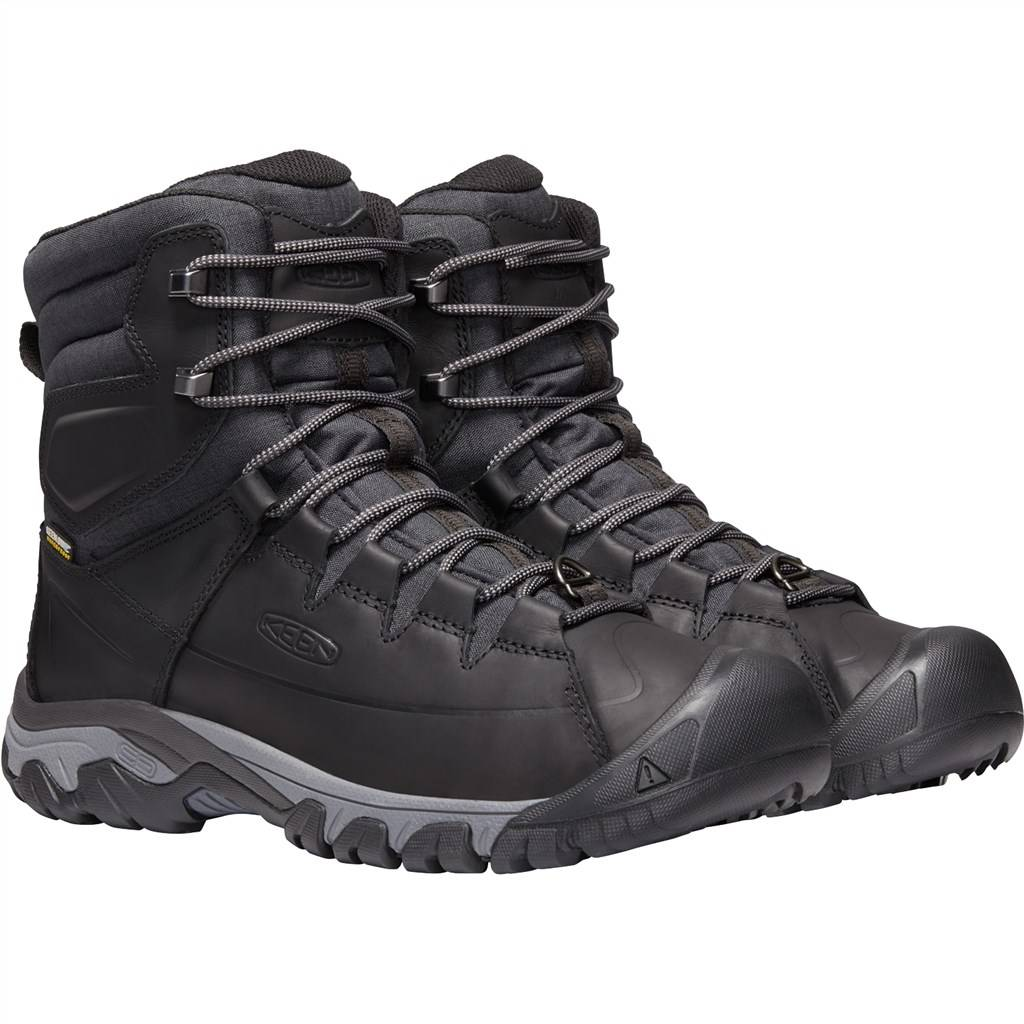 KEEN - M Targhee Lace Boot High - black/raven