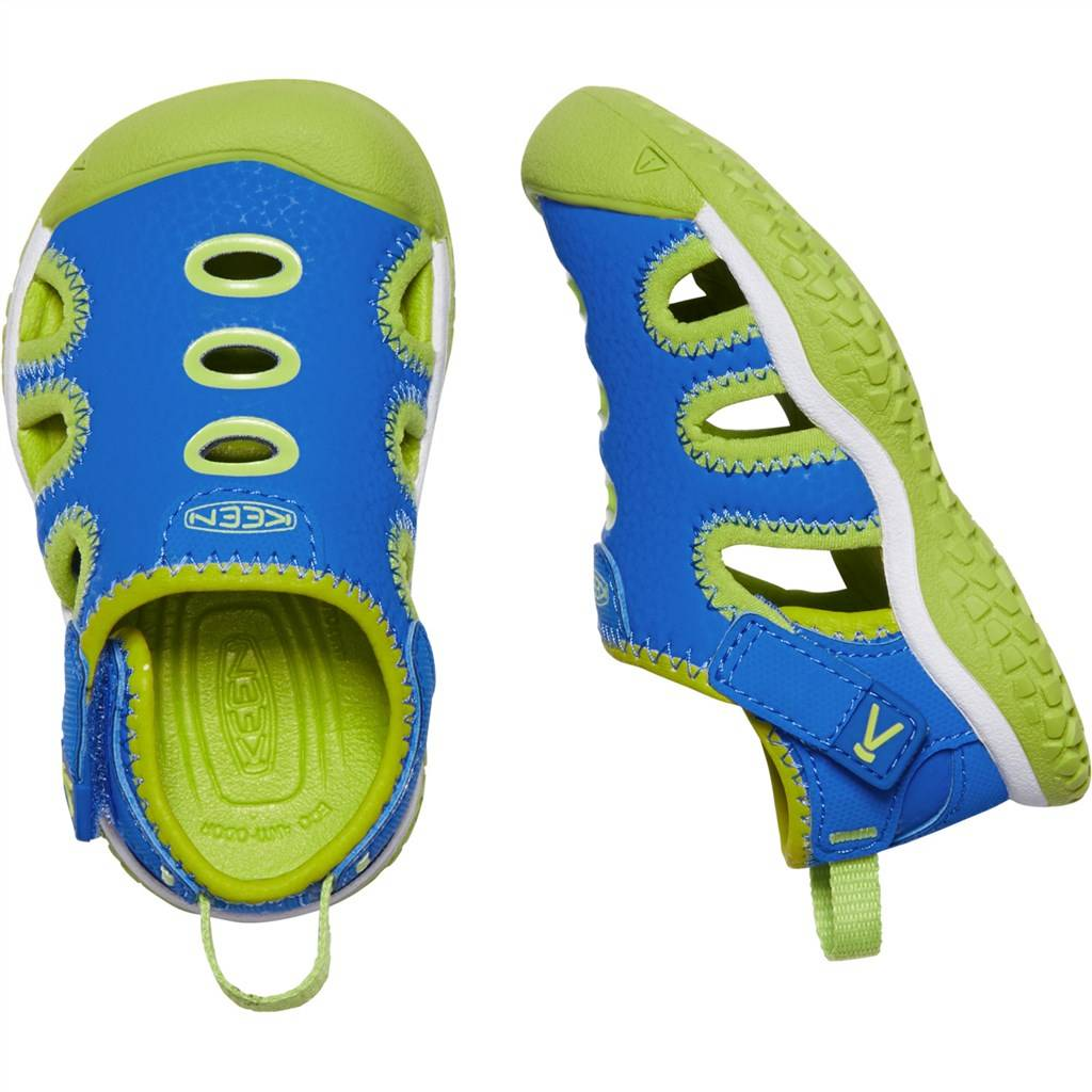 KEEN - T Stingray - brilliant blue/chartreuse