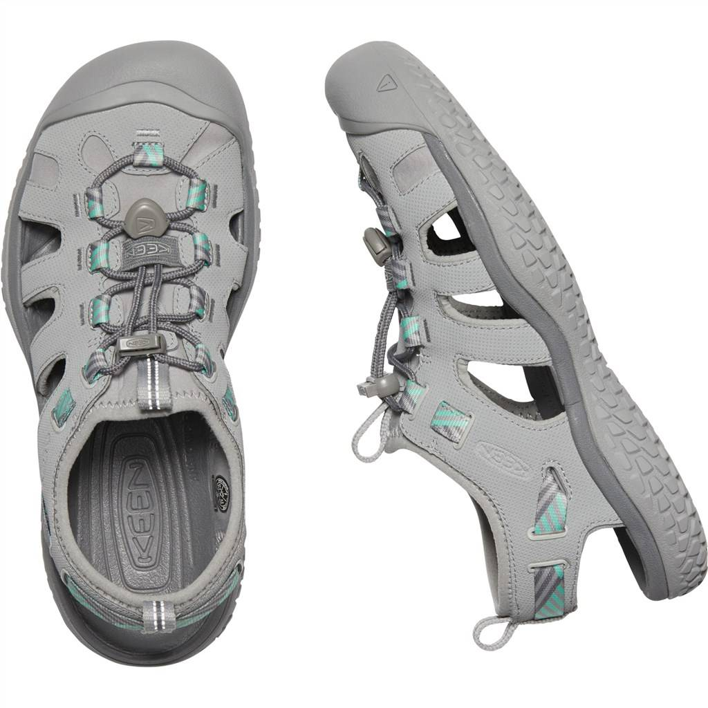 KEEN - W Solr Sandal - light gray/ocean wave