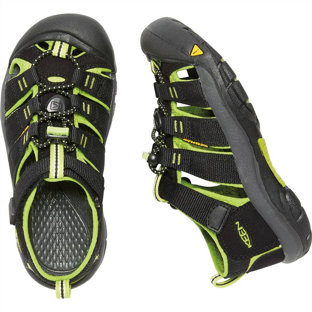 KEEN - Y Newport H2 - black/lime green