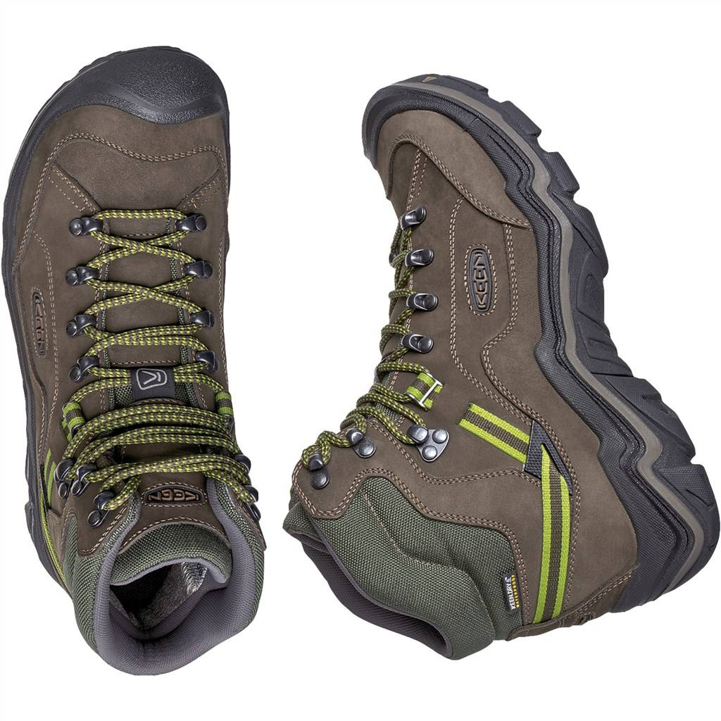 KEEN - M Galleo Mid WP - black/greenery