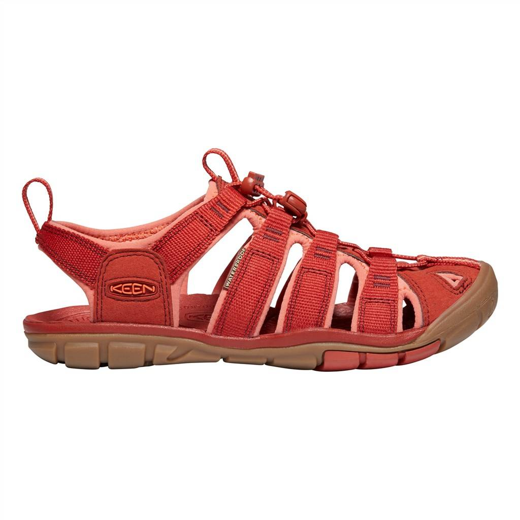 KEEN - W Clearwater CNX - dark red/coral
