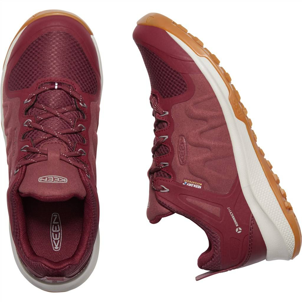 KEEN - W Explore WP - tawny port/silver cloud
