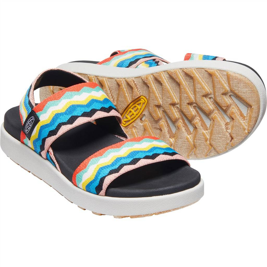 KEEN - W Elle Backstrap - black/peach pearl