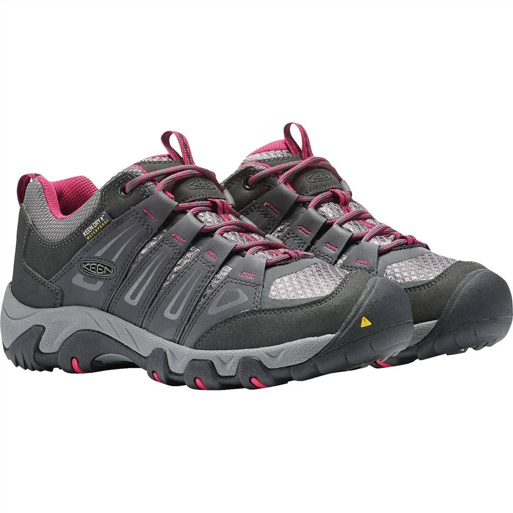 KEEN - W Oakridge Low WP - magnet/rose