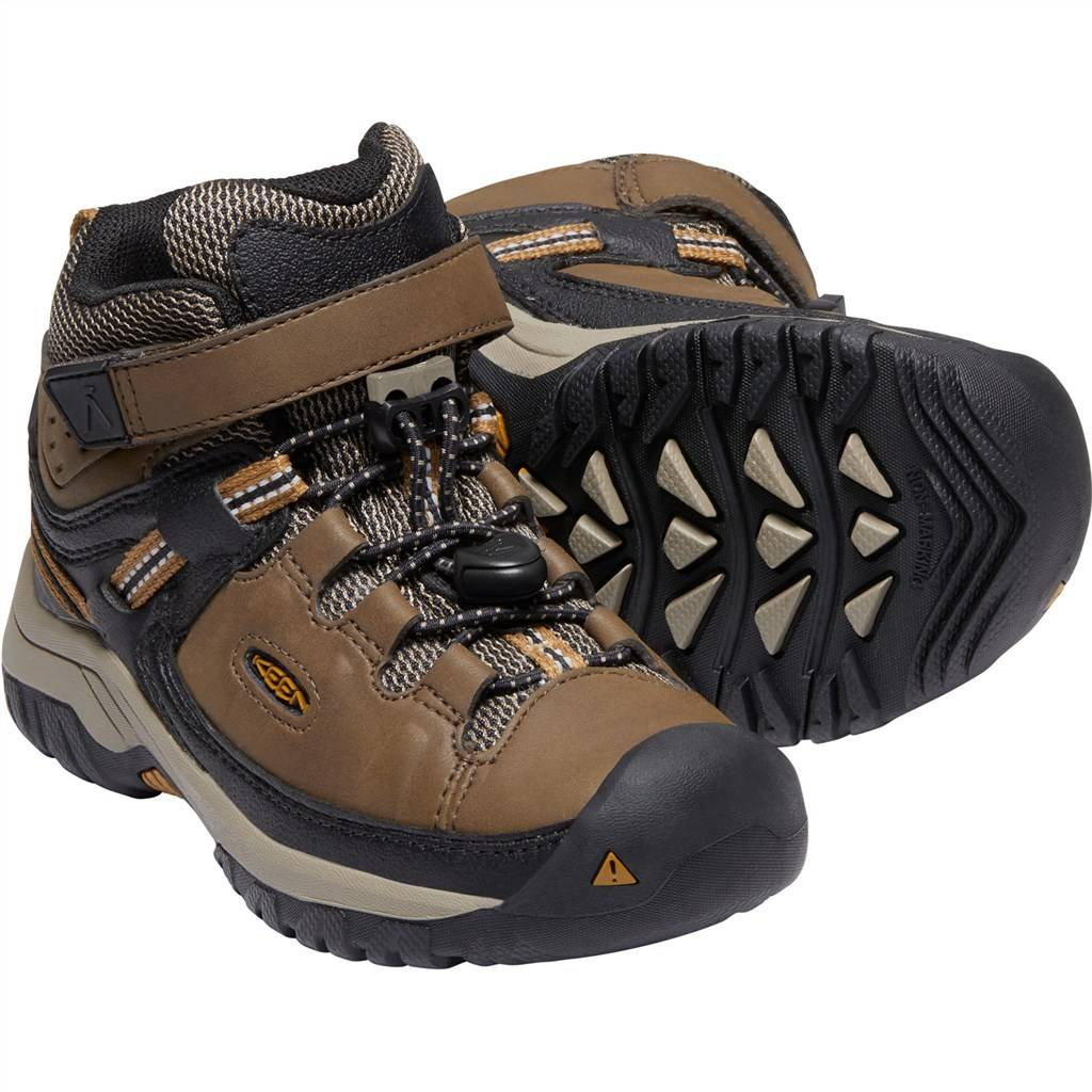 KEEN - C Targhee Mid WP - dark earth/golden brown