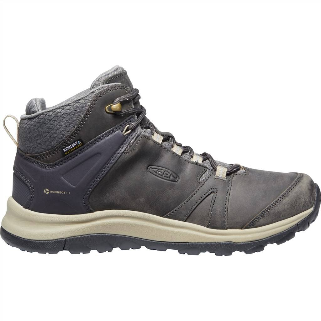 KEEN - W Terradora II Leather Mid WP - magnet/plaza taupe