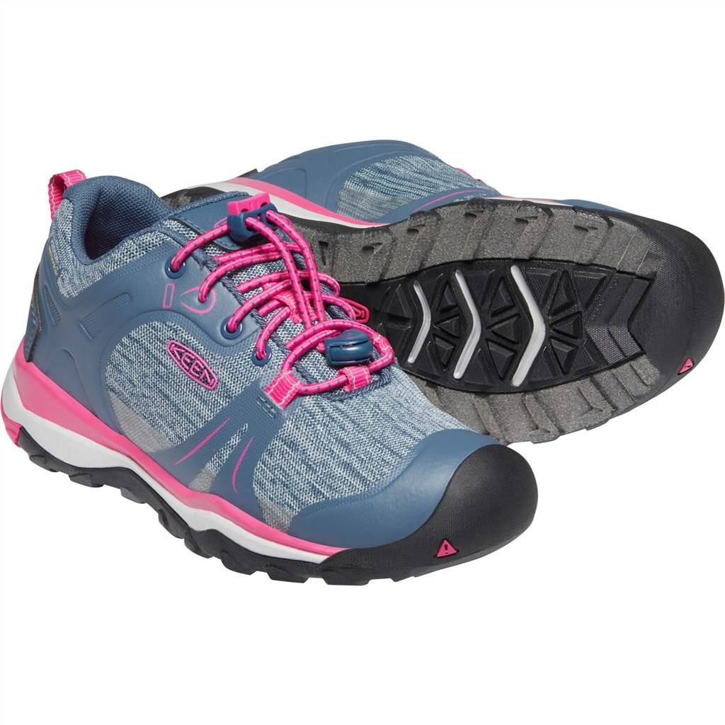 KEEN - Y Terradora II Low WP - blue fog/pink peacock