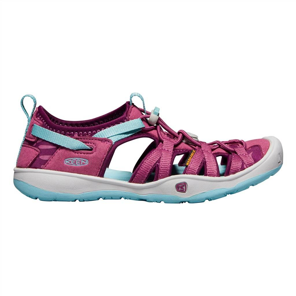 KEEN - Y Moxie Sandal - red violet/pastel turquoise