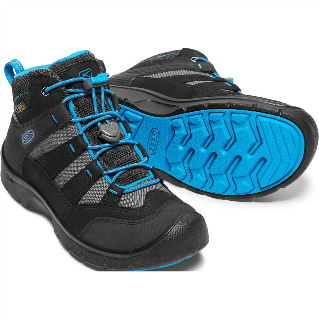 KEEN - Y Hikeport Mid WP - black/blue jewel