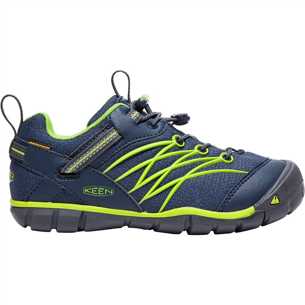 KEEN - Y Chandler CNX WP - dress blues/greenery