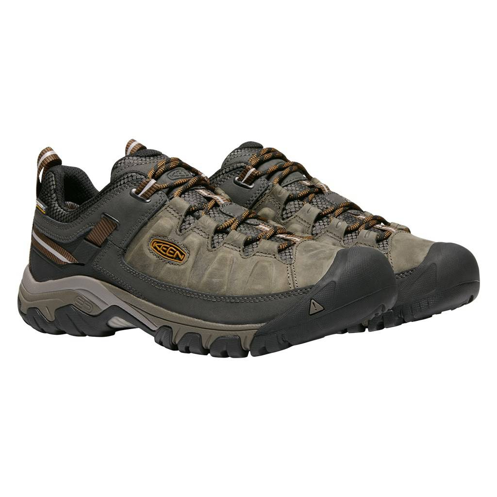 KEEN - M Targhee III WP - black olive/golden brown