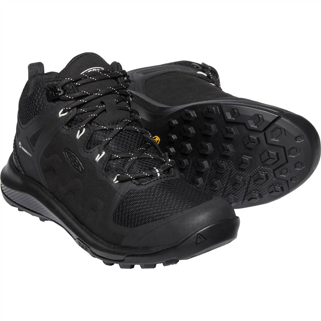 KEEN - W Explore Mid WP - black/star white