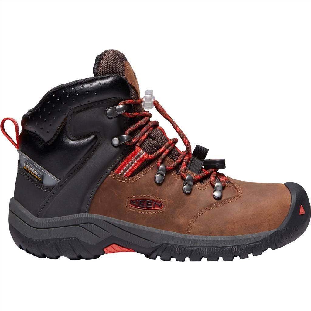 KEEN - Y Torino II Mid WP - turtoise shell/firey red