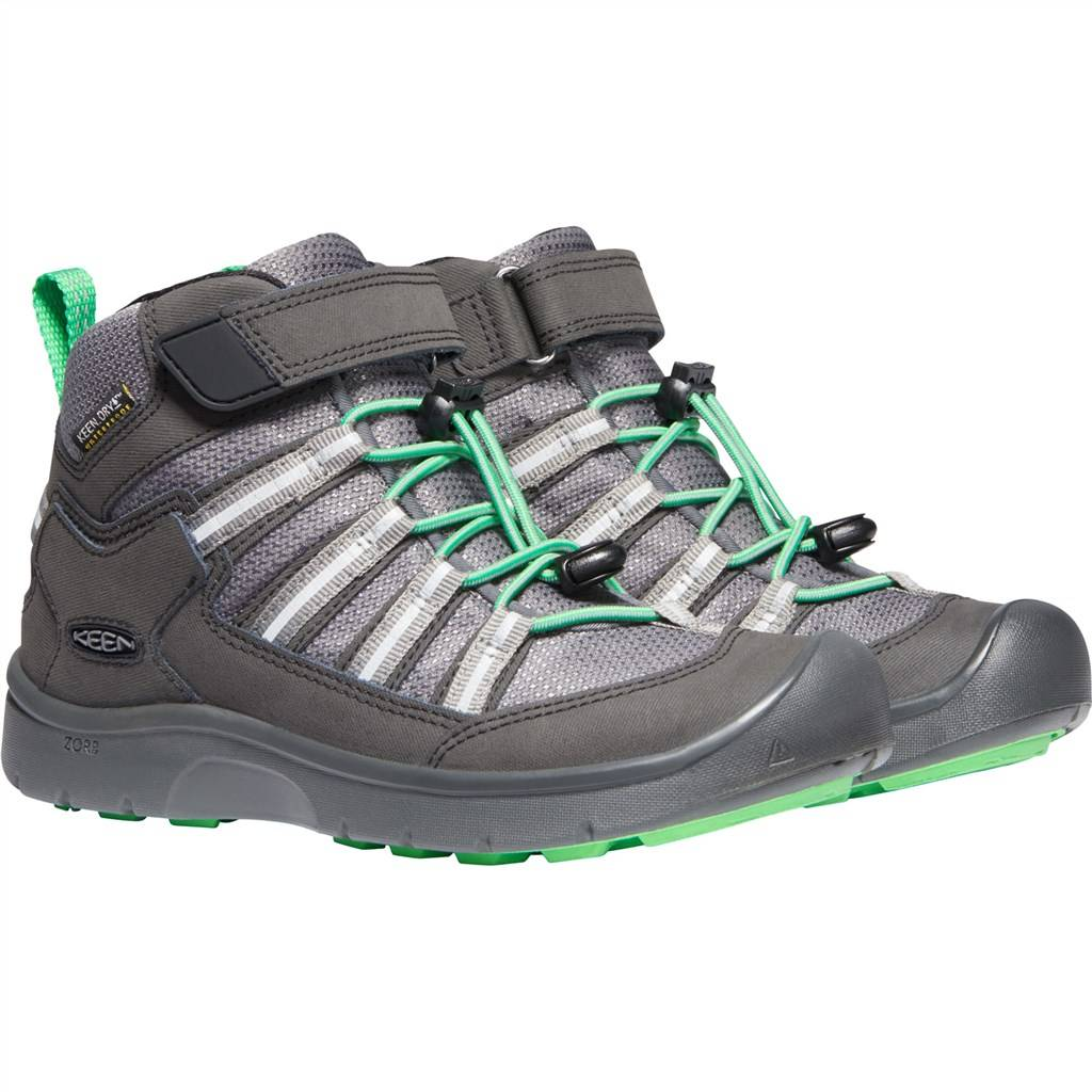 KEEN - Y Hikeport II Sport Mid WP - black/irish green