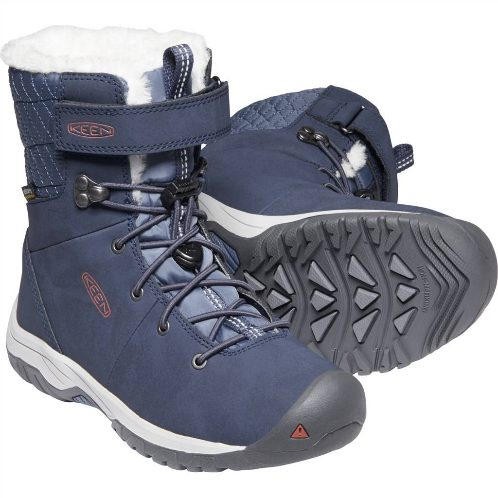 KEEN - Y Hoodoo III Mid WP - blue nights/redwood