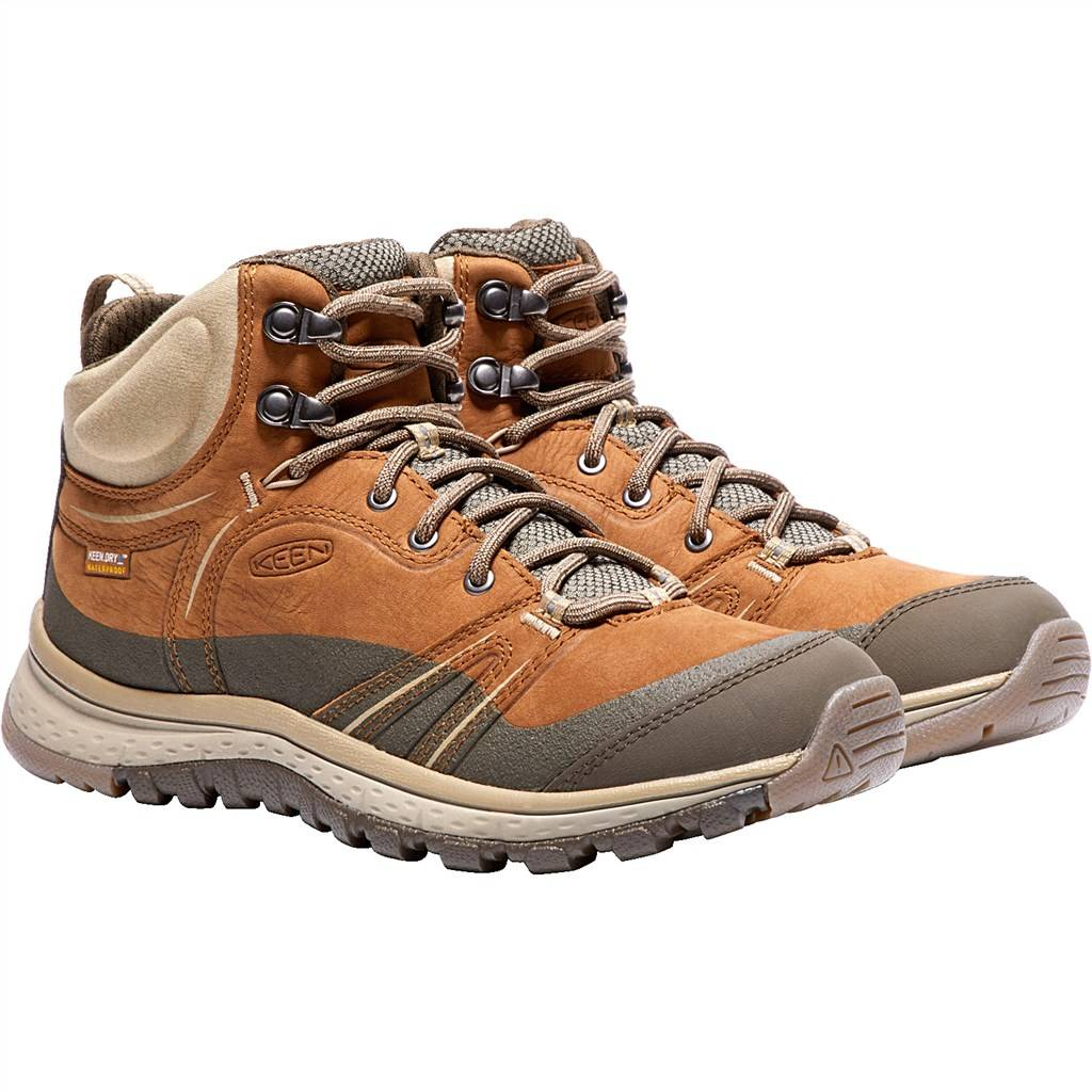 KEEN - W Terradora Leather Mid WP - timber/cornstalk