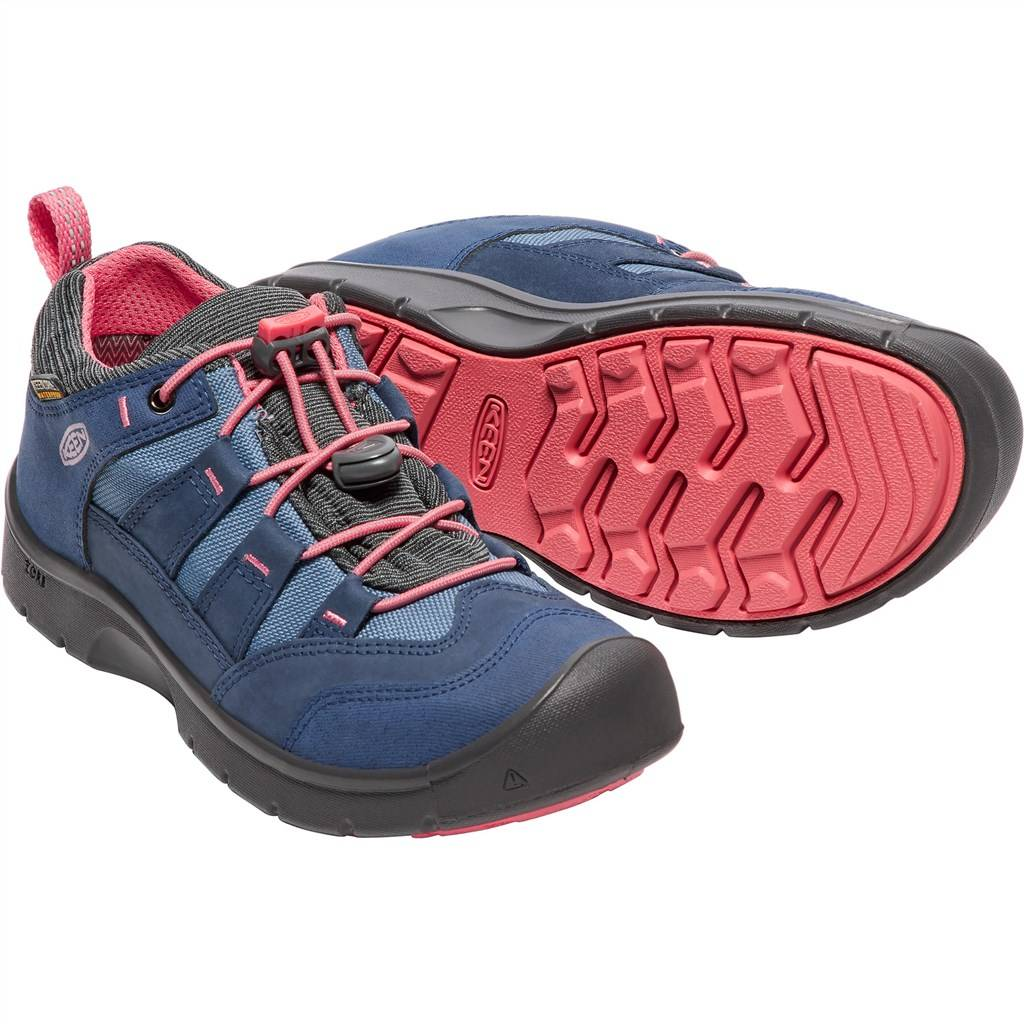 KEEN - Y Hikeport WP - dress blues/sugar cora