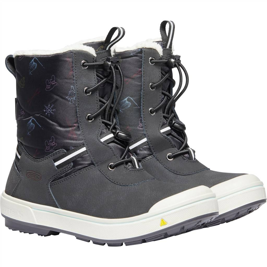 KEEN - C Kelsa Tall WP - black/tibetan red