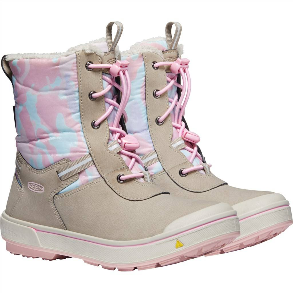 KEEN - Y Kelsa Tall WP - plaza taupe/pink blush