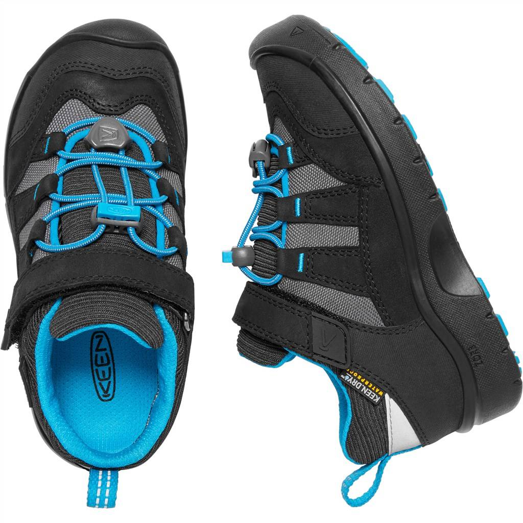 KEEN - C Hikeport WP - black/blue jewel