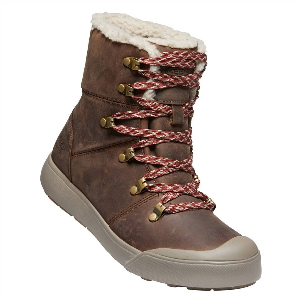 KEEN - W Elena Hiker Boot WP - sea lion/plaza taupe