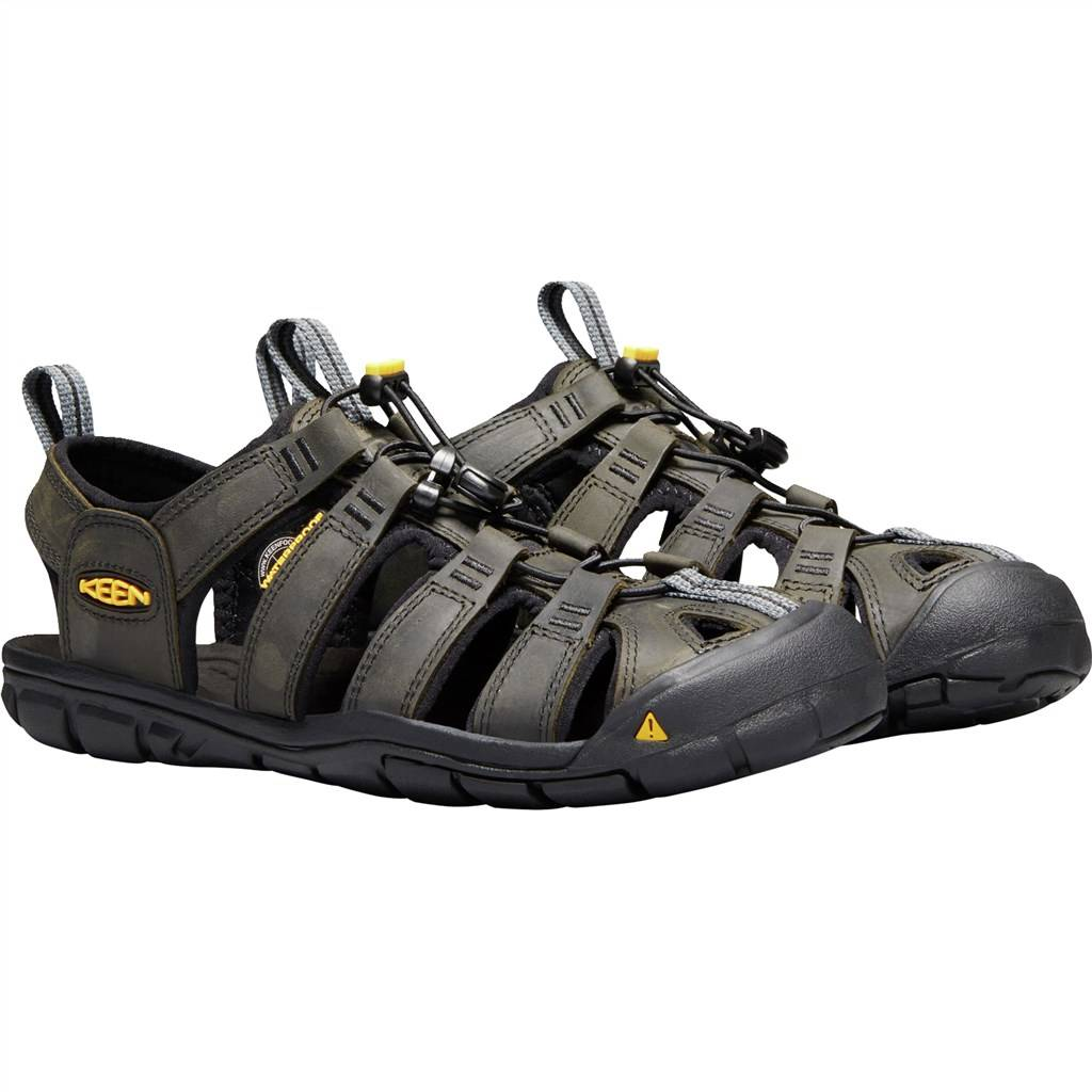 KEEN - M Clearwater CNX Leather - magnet/black