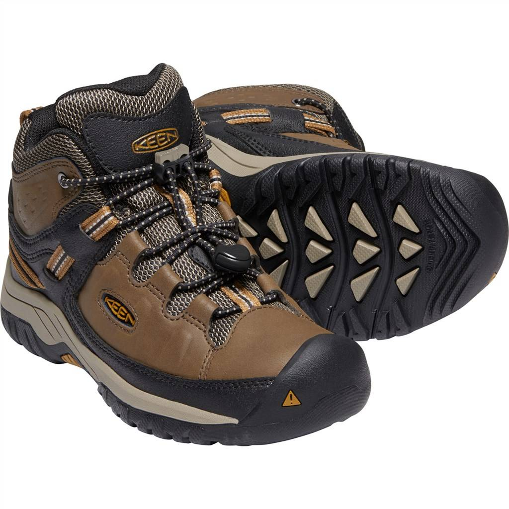 KEEN - Y Targhee Mid WP - dark earth/golden brown
