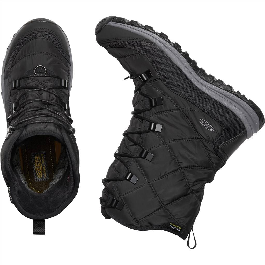 KEEN - W Terradora Lace Boot WP - black/steel grey