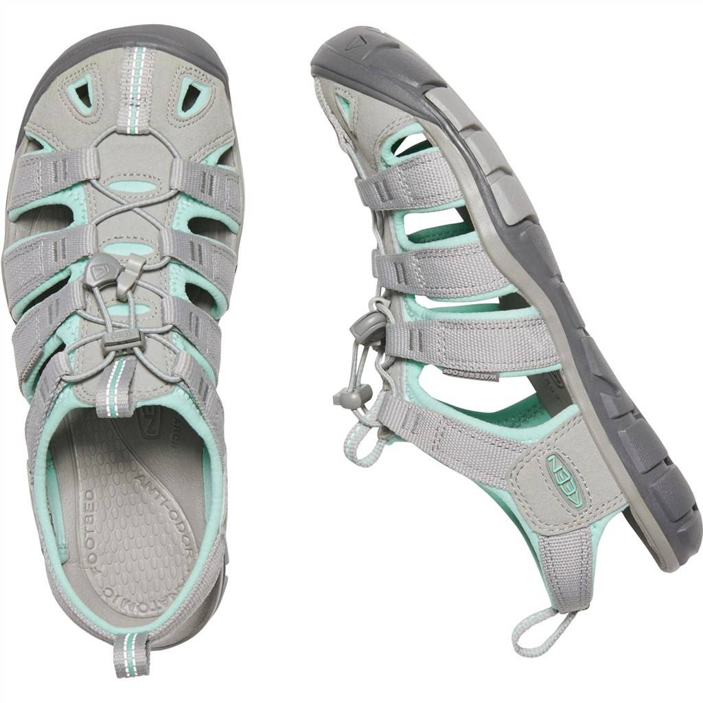 KEEN - W Clearwater CNX - light gray/ocean wave