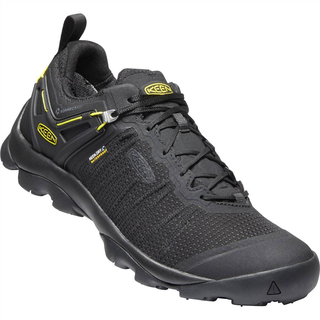 KEEN - M Venture WP - black/vibrant yellow